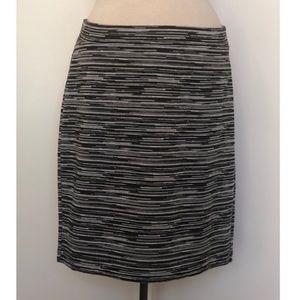 LOFT Space-Dye Knit Pencil Skirt